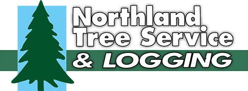 Northland tree service and logging logo